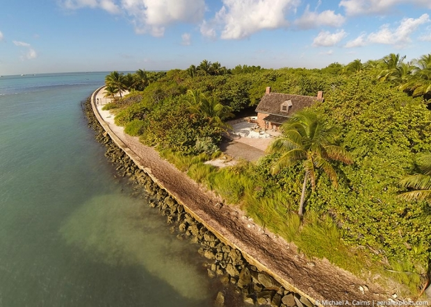 Key Biscayne Aerial Photo