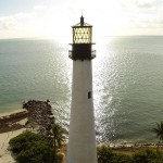 Aerial Photo of Key Biscayne Lighthouse
