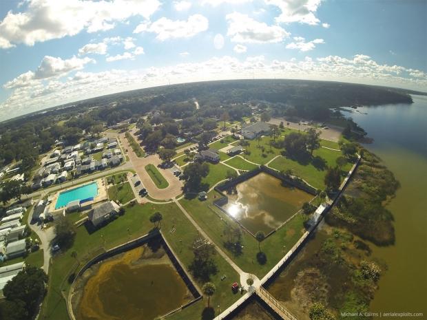 Orlando Pier Park Aerial Photo