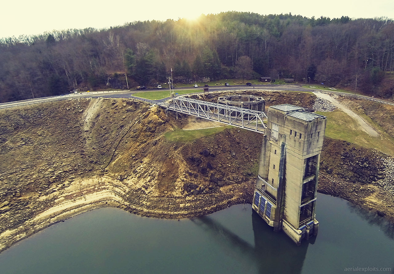 Aerial Photo of Pleasant Hill Dam