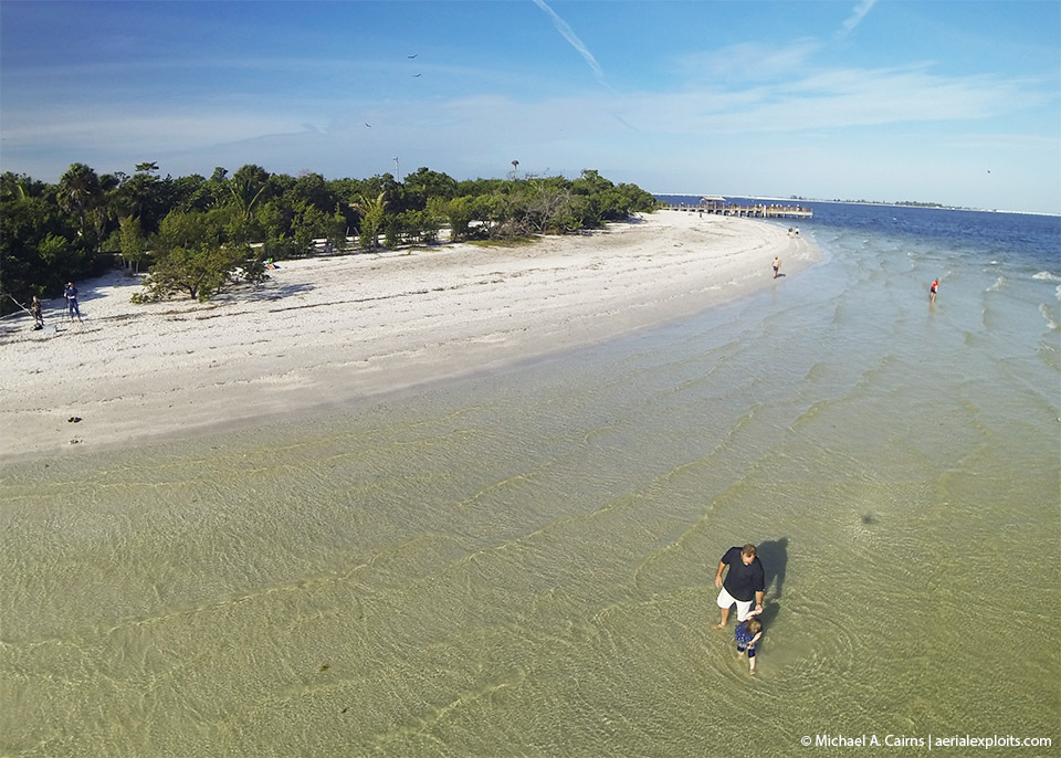 Aerial Photo of Sanibel Beach