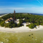 Aerial Photo of Sanibel Lighthouse