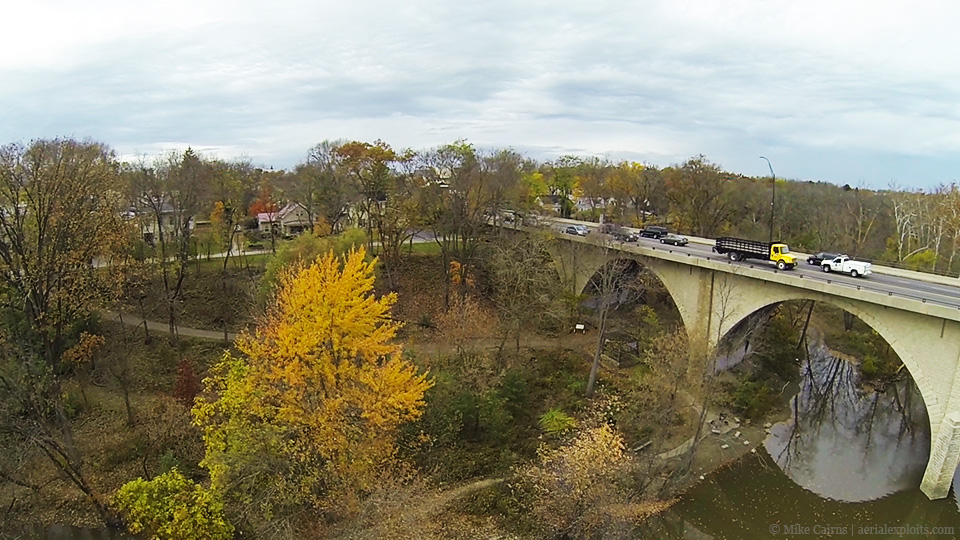 Park below Bridge
