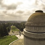 Aerial Photography of McKinley Monument, Canton, Ohio