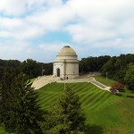 Aerial Drone Photography of McKinley Monument